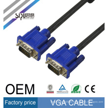 SIPU high speed alibaba website audio video cables 3m strandard CU 3 6 vga cable